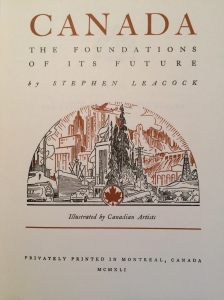 """Canada: The Foundations of its Future"""